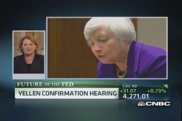 Yellen will give predictability: Sen. Heitkamp