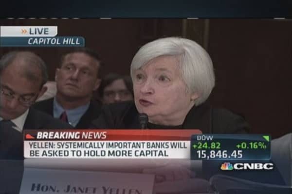 Dodd-Frank will improve capital standards: Yellen