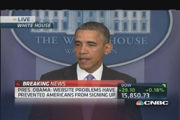 Pres. Obama: ACA rollout has been rough