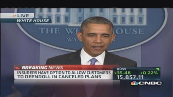 Obama: We should have done a better job