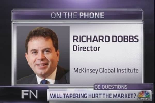 McKinsey researcher: QE hasn't helped stocks