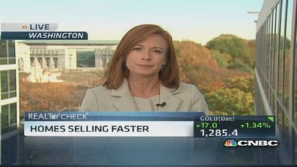 Home sales picking up speed