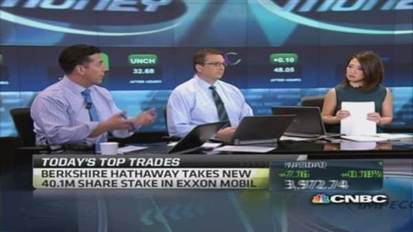 Fast Money traders split on Buffett's Exxon buy