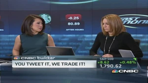 You tweet it, we trade it