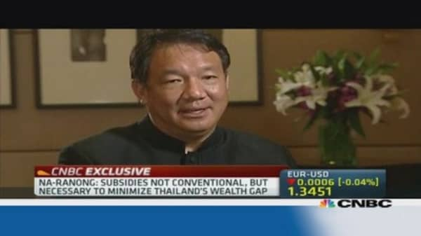 Thai finance minister: Not worried about outflows