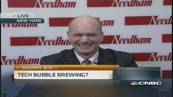 Tech bubble brewing?