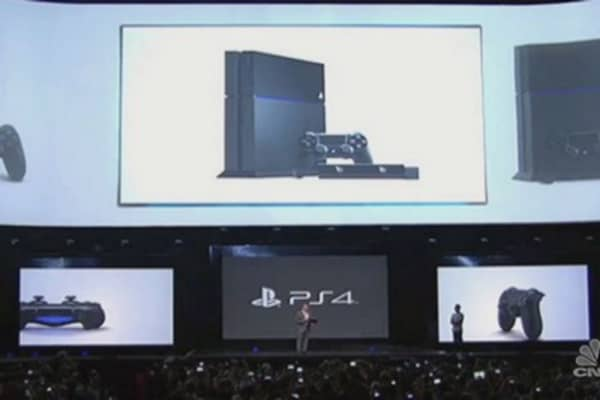 Sony's Play Station 4 finally here