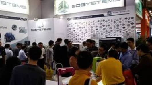 3D Systems at China's DMP 2013