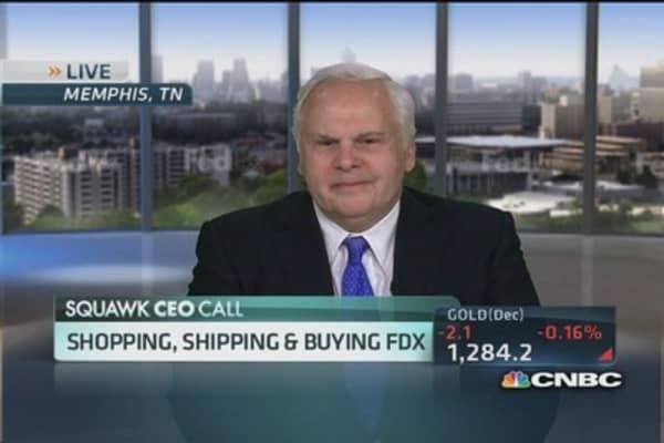FedEx CEO: Enjoyed meeting Mr. Loeb