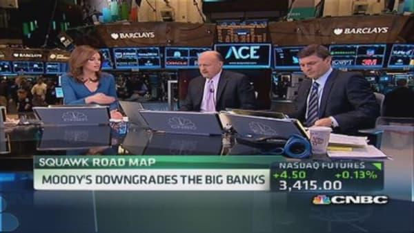 Moody's downgrades the big banks
