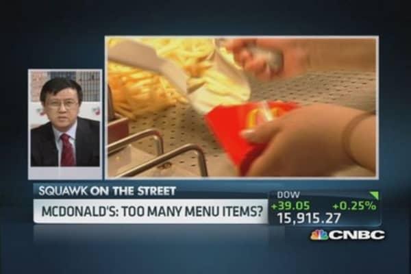 Improving service at McDonald's