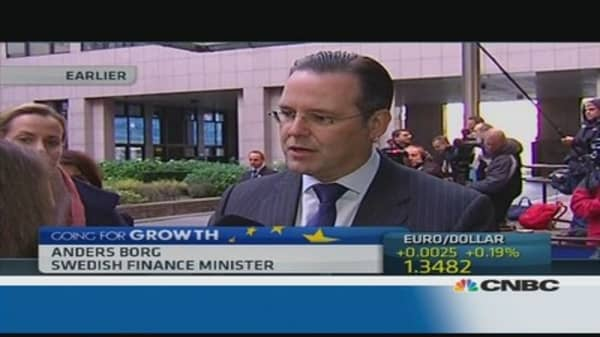 Euro zone fiscal backstop is needed: Swedish Fin Min