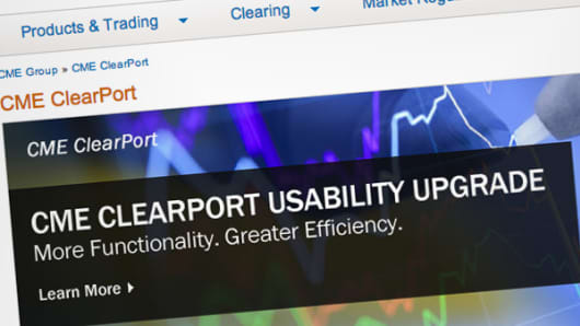 CME ClearPort home page