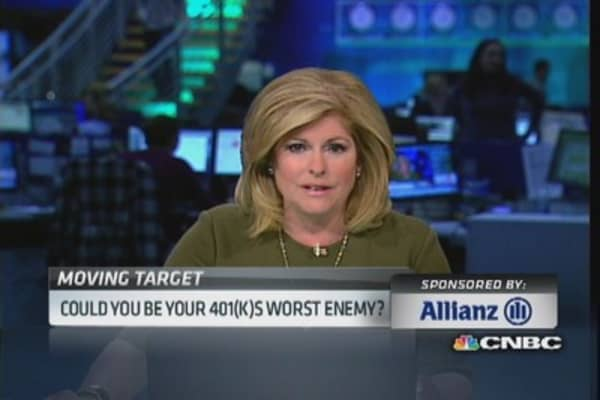 Could you be your 401(k)'s worst enemy?