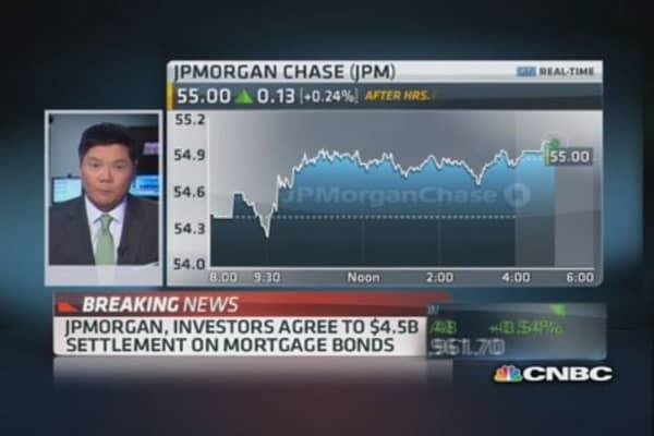 JPM agrees to $4.5 billion settlement