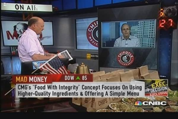 Chipotle CFO: Considering menu price increase next year