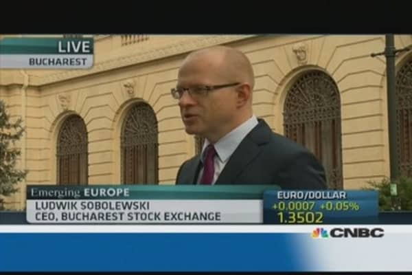 Bucharest Stock Exchange on Romanian assets
