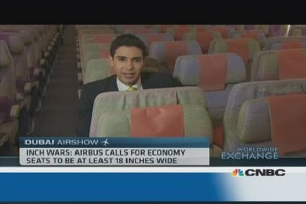 Seat sizes: The new battle between Boeing and Airbus?