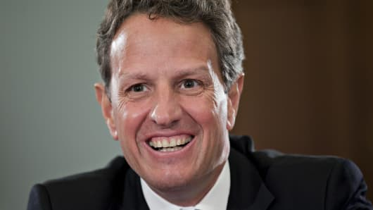 Timothy Geithner.