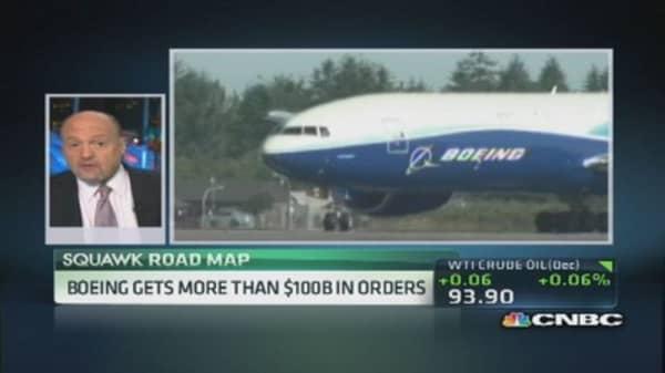 Cramer: Boeing, best performer in Dow