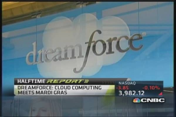 Dreamforce: Cloud computing meets Mardi Gras
