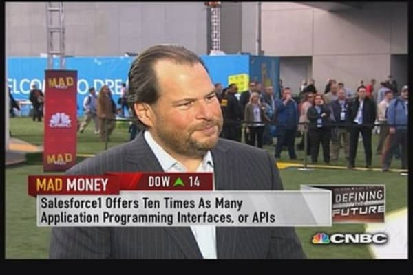 Agreement with Phillips, big victory: Salesforce CEO