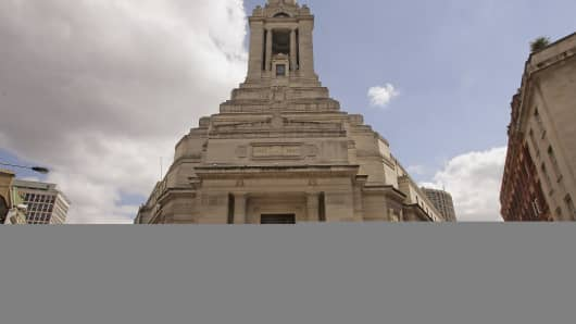 Freemasons Hall - the headquarters of the United Grand Lodge of England - in London