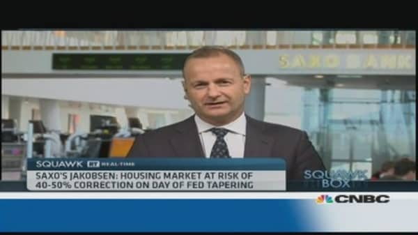 Asia housing market at risk of 40-50% correction: Saxo's Jakobsen