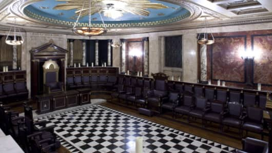 Masonic Temple in the City of London