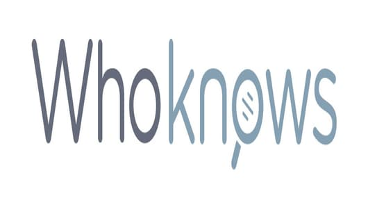 WhoKnows Logo
