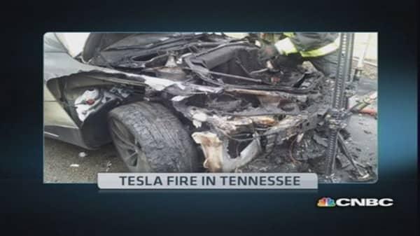 Tesla working with investigators