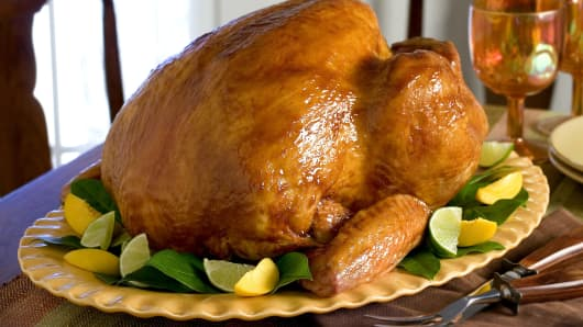 Butterball glazed turkey.