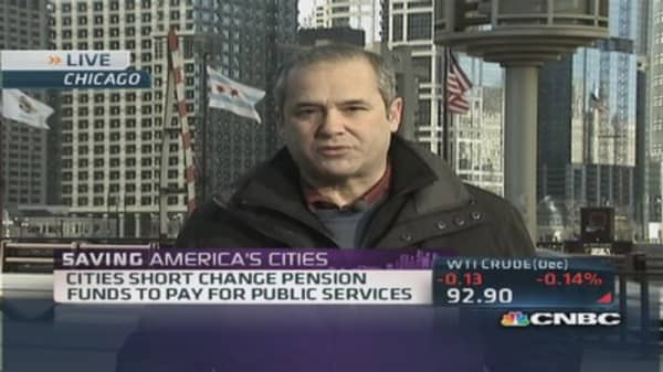 Cities face billions in pension fund shortfalls