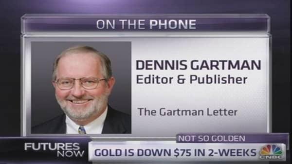 Gartman: Here's what will make me buy gold