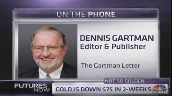 What Gartman likes more than gold