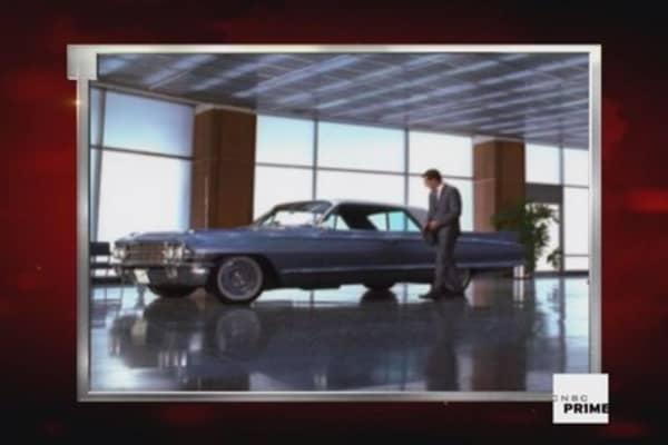 Don Draper's car