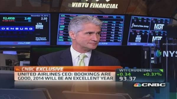 United CEO: Consolidation is very good for business