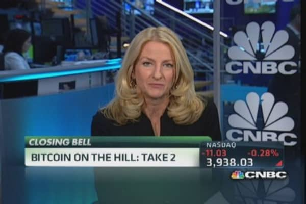 Big day on the hill for Bitcoin
