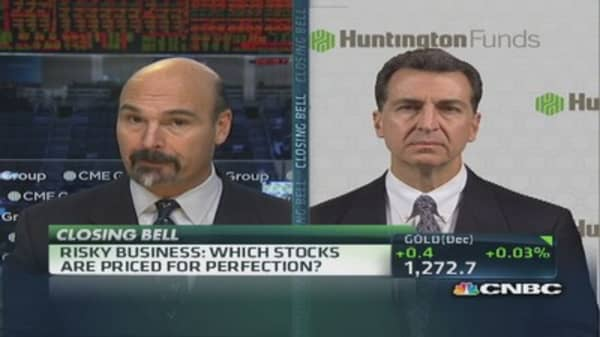 Risky Business: Stocks priced for perfection