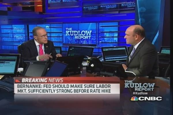 Bernanke: Funds rate likely to remain low after QE ends
