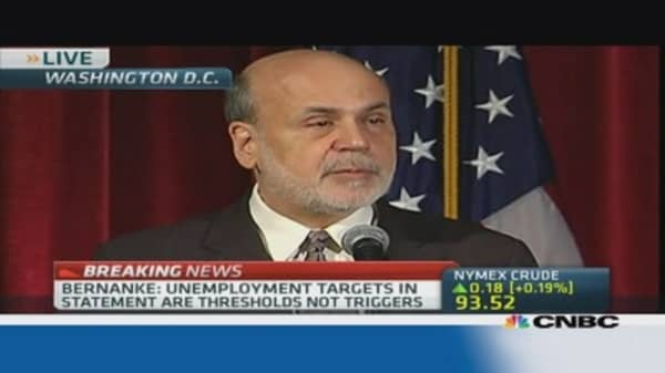 Bernanke reiterates accommodative stance