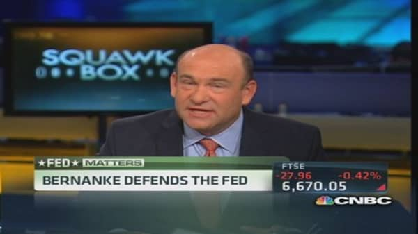 Bernanke looks beyond the Fed