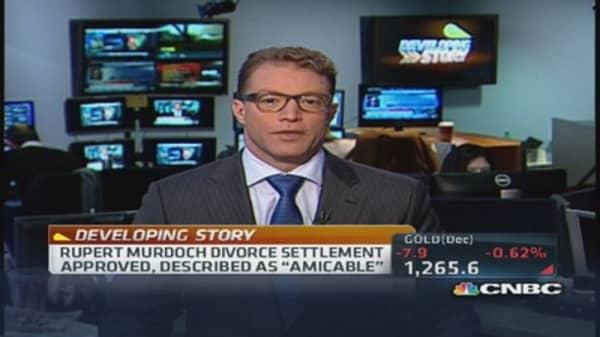 Rupert Murdoch divorce settlement approved