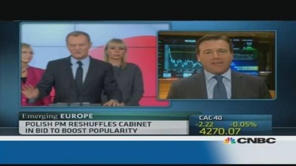 Polish PM names new finance minister