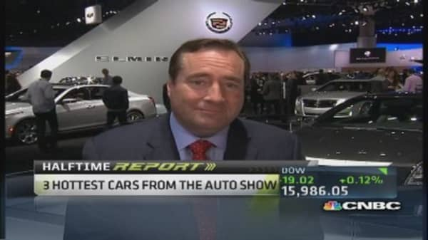 Sneek peek from LA auto show