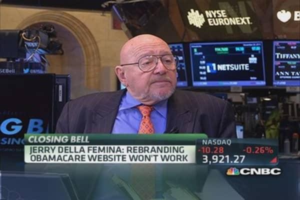 Jerry Della Femina: Obamacare a bad product