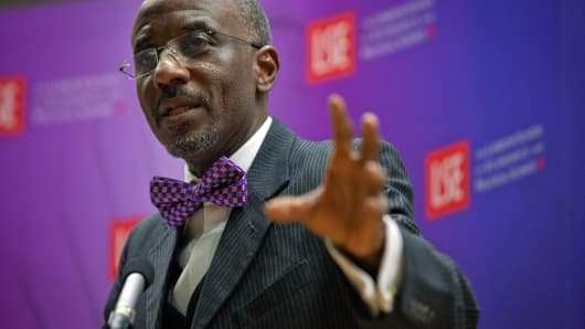 Lamido Sanusi, governor of the Central Bank of Nigeria