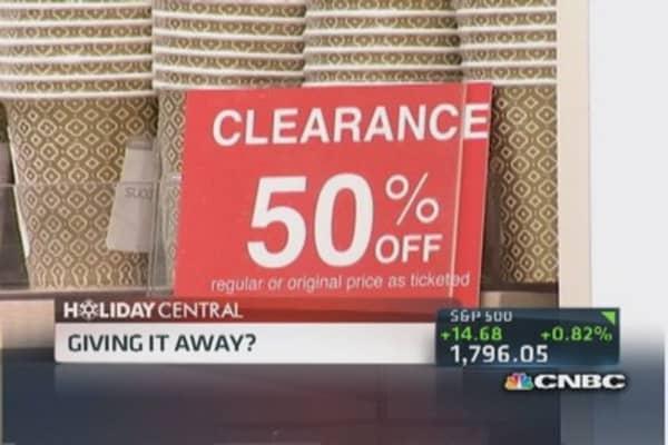 Tis the season ... for deep discounts