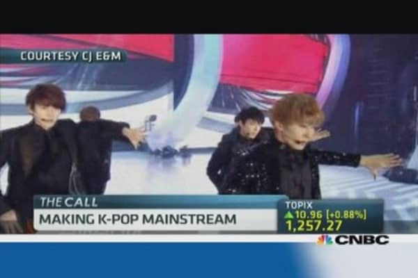 K-pop, Korea's newest export, goes global