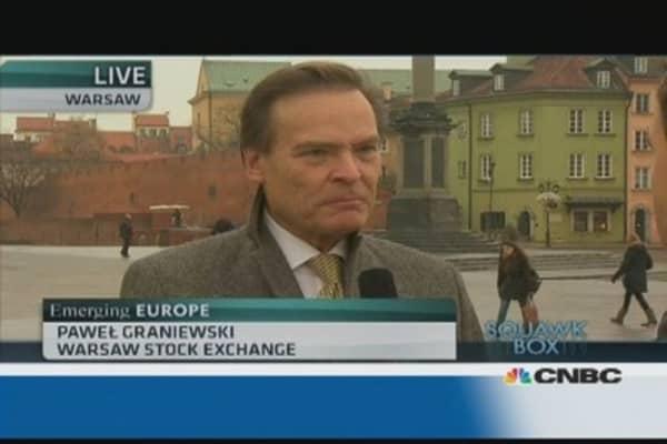 Polish stocks undervalued: Warsaw Stock Exchange